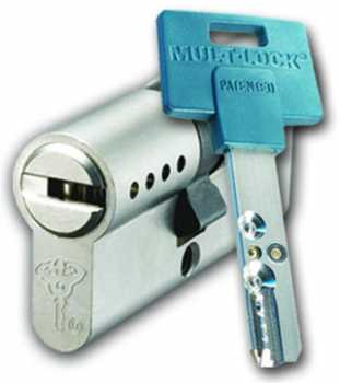 Mul-T-Lock Inter L 71 Ф (33х38) никель